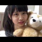 (160902)乃木坂46 中村麗乃のShowroom 第3期候補生1番当時